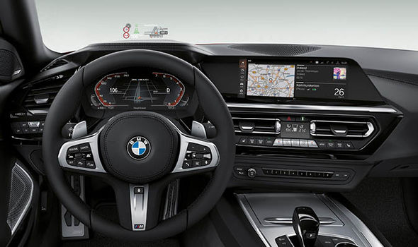 BMW Z9 Official Interior